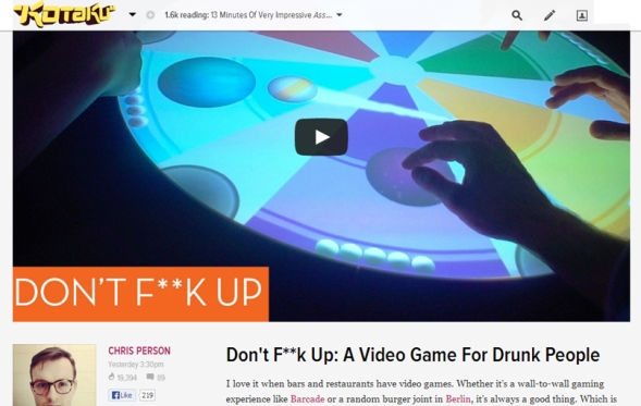 kotaku don't fk up