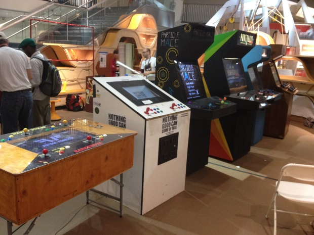 Death By Audio Arcade at Maker Faire