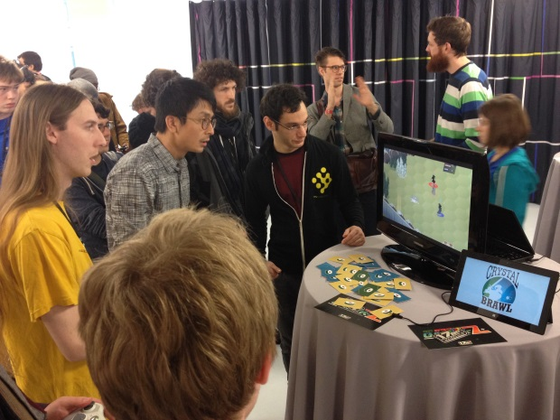 Crystal Brawl at IndieCade East 2014