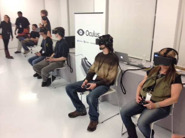 Oculus at IndieCade East 2014